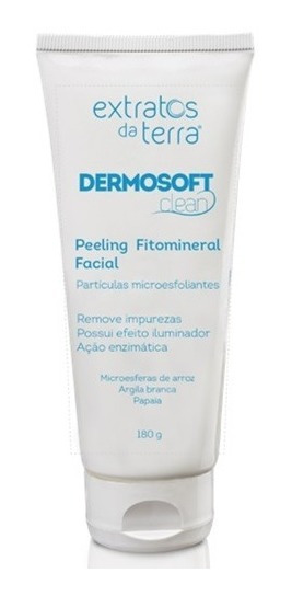 Dermosoft Clean Peeling Fitomineral Facial 180g Extratos