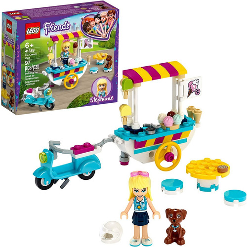 Lego Friends Ice Cream Cart 41389. Carro De Helado