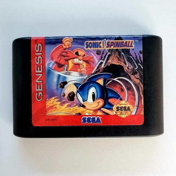 Sonic Spinball Original Mega Drive Sega Genesis