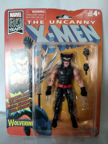 Imagen 1 de 3 de Wolverine Uncanny X-men Retro Marvel Legends  Hasbro