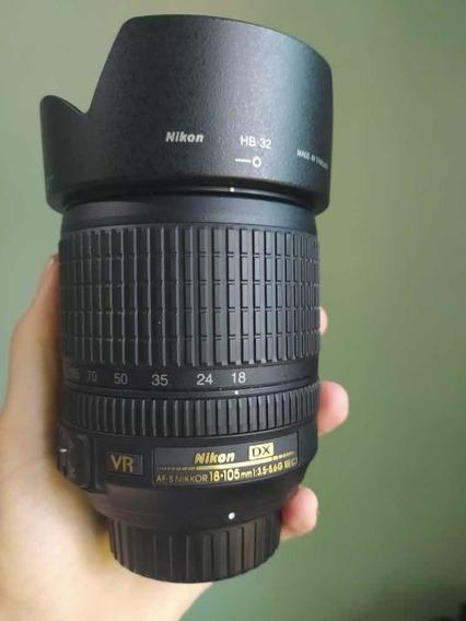Lente Nikon Af-s Dx Nikkor 18-105mm F/3.5-5.6g Ed Vr