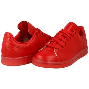 Tenis adidas Stan Smith Rojos Para Caballeros Talla 9.5 Usa