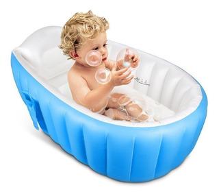Bañera Inflable Para Niños Niñas Bebé