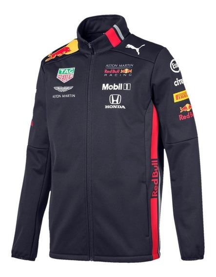 Nova Jaqueta Softshell Aston Martin Red Bull Racing F1 2019 Max Verstappen Frete Grátis