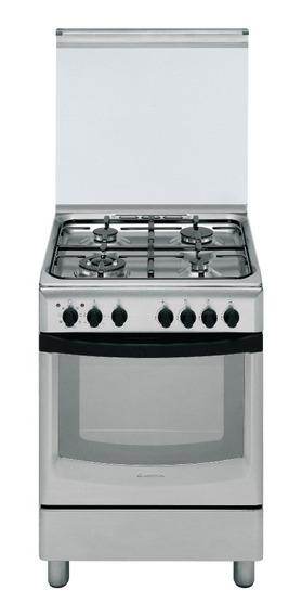 Cocina Inox Mixta 60 Cm Ariston F068857