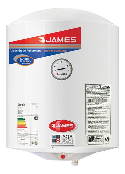 Calefón James 30 L Acero Cilíndrico Clase A - Vía Confort