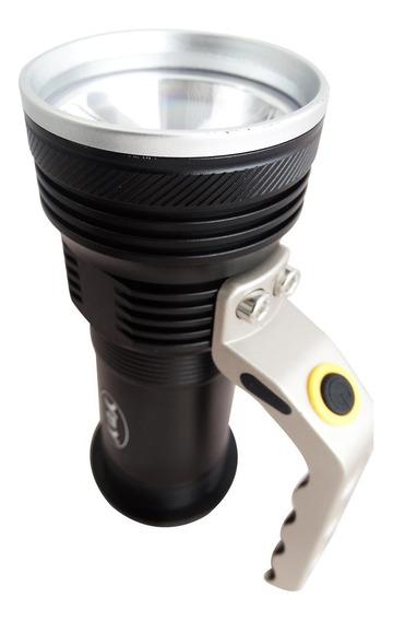 Lanterna Tatica Recarregavel Police 800 Lumens 3 Funções