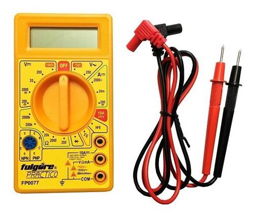 Multimetro Medidor Tester Voltimetro Digital Udt830b Arduino
