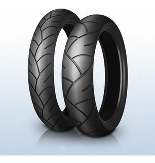 Cubierta 13*130/60 M/c 53p Pilot Sporty Sc Tl Michelin 60090
