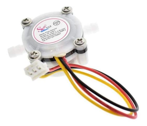 Sensor De Fluxo Vazão Yf-s401 1/8 0 A 6 L/min 0,8 Mpa