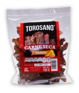 Carne Seca Torosano Sal Limón Habanero 1.0kg (10x100g)