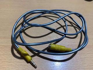 Cable Miniplug 3.5mm Macho A Miniplug 3.5mm Hembra