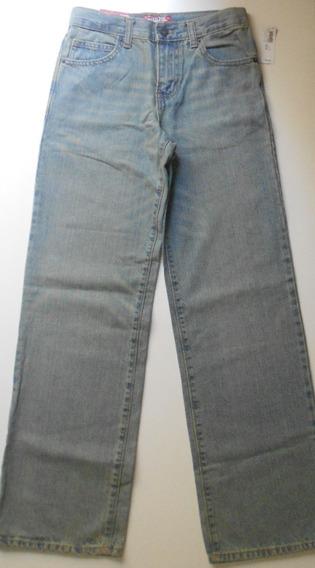 Calça Jeans Slim Tamanho 14 Old Navy Elástico Na Cintura