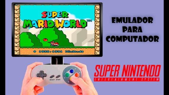 Emulador De Super Nintendo + 900 Jogos Para Pc Sem Frete