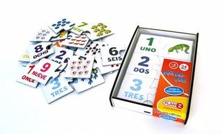 Juegos Didácticos Madera De Números En Caja
