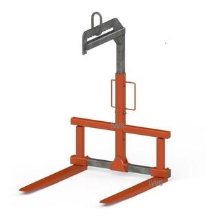 Garfo Paleteiro Para Munck Porta Pallet P/ Palete Ton 3000kg