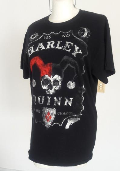 Harley Quinn Playera Negra Talla-m Clave Ph4