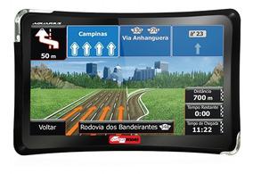 Gps Automotivo Alerta Radar Mapa 4.3 Original 4 Rodas C/ Tv