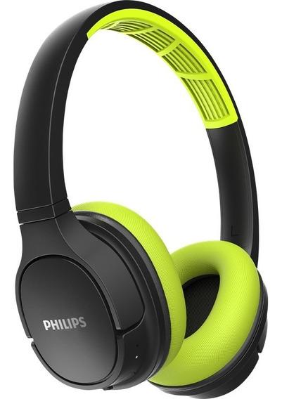Fone Headset Philips Sport Tash402lf/00 Bluetooth Microfone