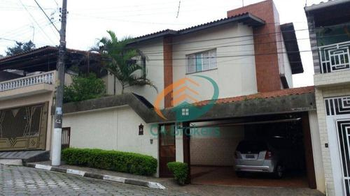 Imagem 1 de 27 de Sobrado Com 3 Dormitórios À Venda, 250 M² Por R$ 1.000.000,00 - Jardim Gumercindo - Guarulhos/sp - So0805