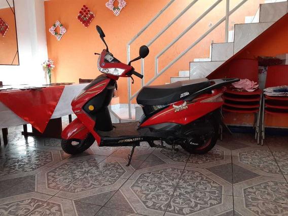 Moto Scooter Alesin Rtm125t-1 Rojo