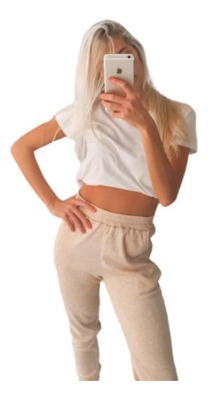 Jogging Babucha De Morley De Lanilla Modelo Cinnamon Mujer