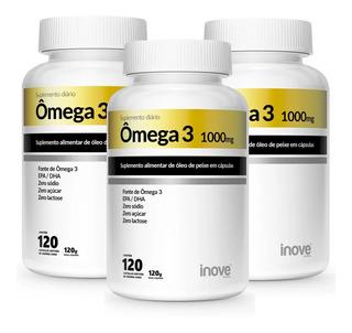 Omega 3 1000mg 360 Capsulas - Inove Nutrition