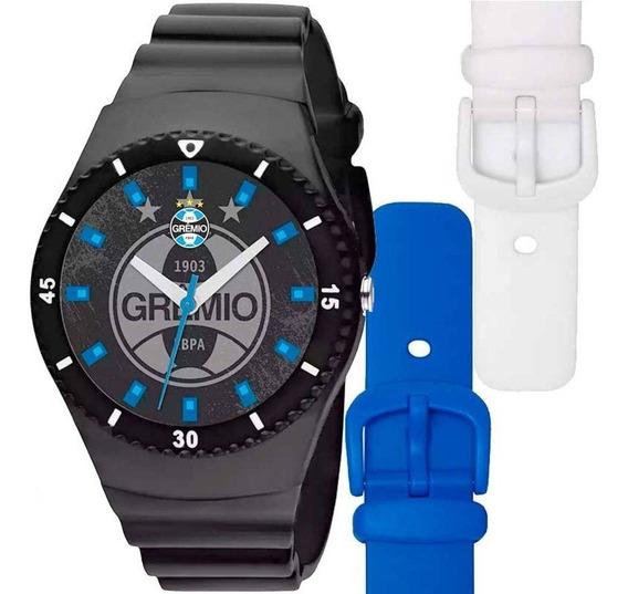 Relógio Troca Pulseira Grêmio Technos - Gre2035ac/8p