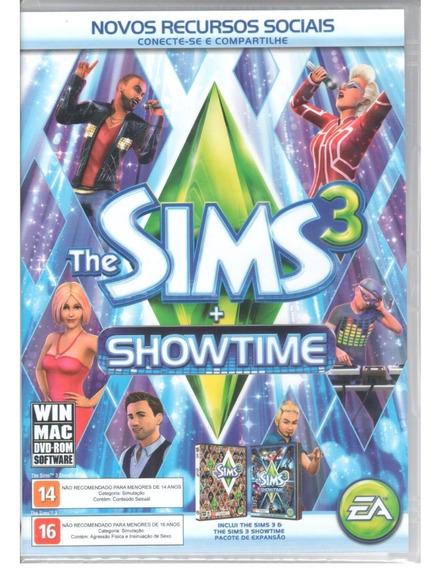 The Sims 3 Plus Pc Jogo Base + Exp. Showtime
