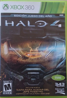 Halo 4 Xbox 360 Español Original Nuevo Sellado