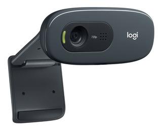 Webcam Logitech C270 Micrófono 3mpx 720p Cámara Web 1