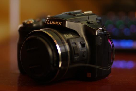Câmera Panasonic Lumix Fz200 Usada Em Ótimo Estado