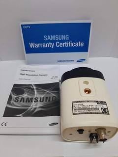 Câmera Cftv Samsung Scb 5000 N Analog Box 1/3 1.3mp 1000tvl