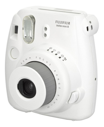 Imagen 1 de 6 de Camara Instantanea Fujifilm Intax Mini 8 Blanco -las Piedras
