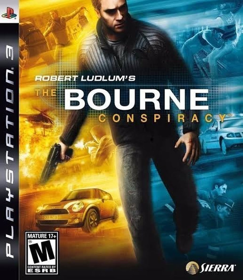 The Bourne Conspiracy - Ps3 - Mídia Física