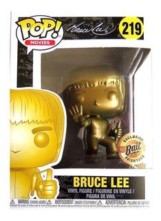 Funko Pop Bruce Lee 219 Bait Exclusive Dorado Original