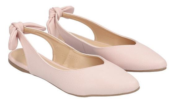 Zapato Plano Puntal De Mujer C&a Destalonado