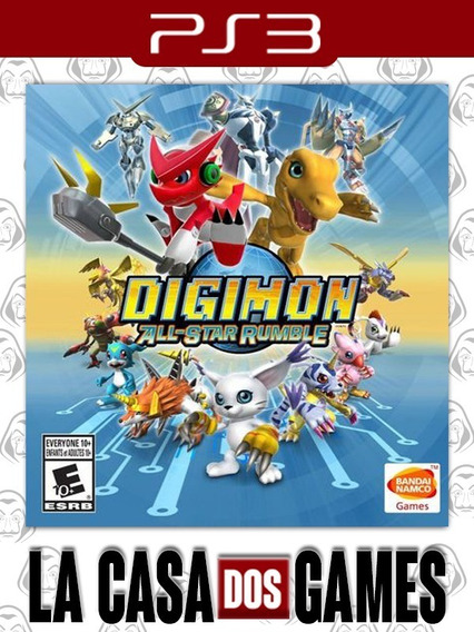 Digimon All-star Rumble - Psn Ps3 - Legendado Português