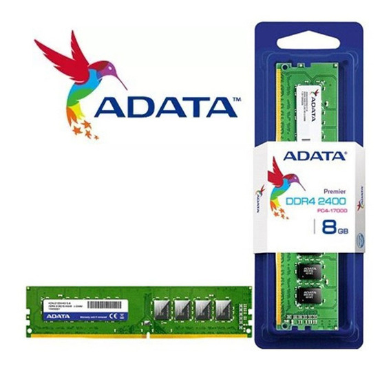 Memória Ddr4 8gb 2400mhz Adata Premier Nova Original