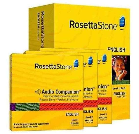 Curso De Ingles Rosetta V5.11.2 Pack 2019 Envios Online *tm*