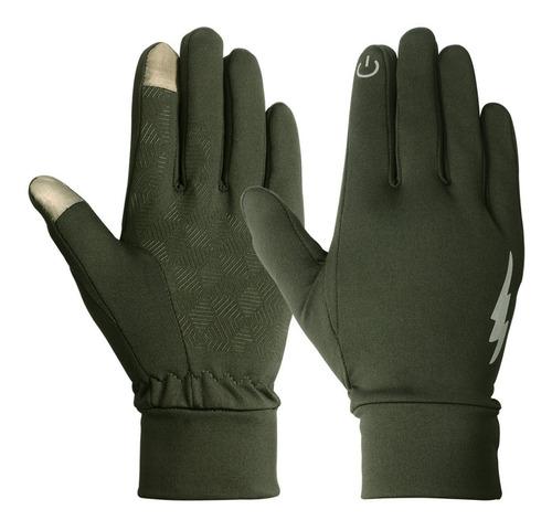 Guantes Termicos Para Frio Unisex Dedo Tactil Ajustados