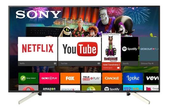Smart Tv Led 49 Sony Kd-49x755f Ultra Hd 4k 4 Hdmi 3 Usb