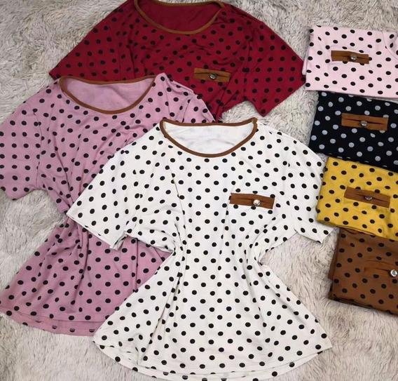 T Shirt Blusas Femininas Dot