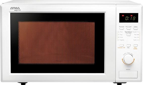 Microondas Atma 28 Lts Digital Con Grill Md928g