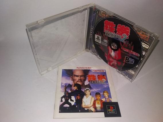 Tekken 2 Jogo 100% Original Playstation 1 Ps1 Frete Gratis