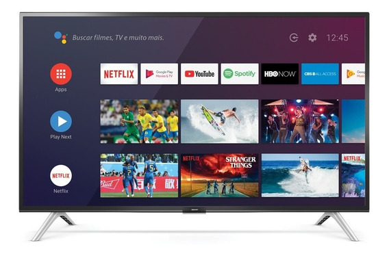 Smart Tv Full Hd Semp 43 Semp43s5300 Wi-fi Bluetooth