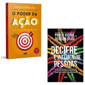 Livros Decifre E Influencie Pessoas + Poder Da Ação - Paulo