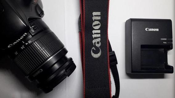 Canon T3 + Lente 18-55 Mm + Bateria E Carregador + Bolsa