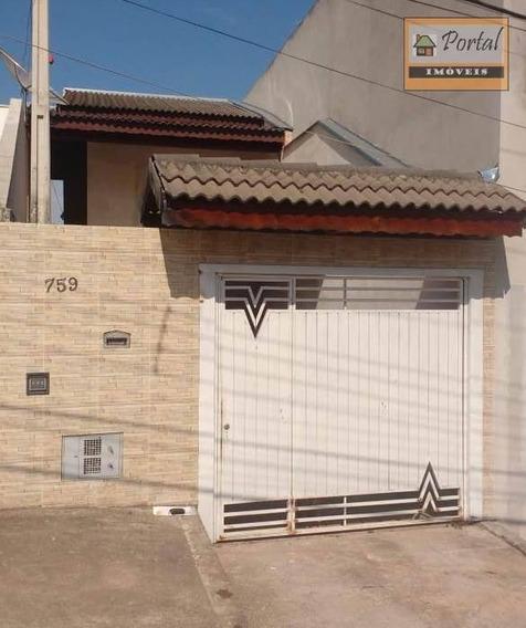 Casa Com 3 Dormitórios No Bairro Jardim São Conrado Em Campo Limpo Paulista-sp - Ca0477