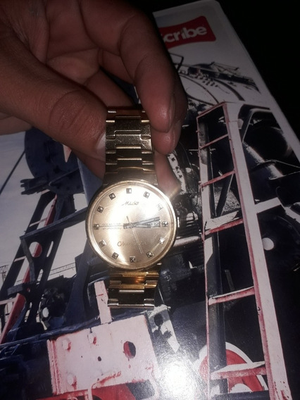 Reloj Mido Para Caballero Color Dorado